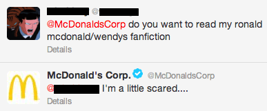 twitter McDonald's wendys fanfiction burger king fast food - 7354629376