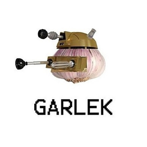 dalek,garlic,doctor who