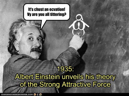theories,attractive forces,equations,albert einstein