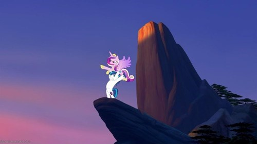 ponified shining armor lion king - 7355327488