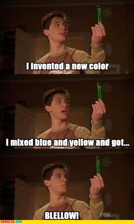 malcolm in the middle colors science funny - 7355507712