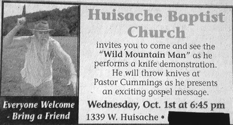 advertisement knives church weird newspaper fail nation g rated - 7355660544