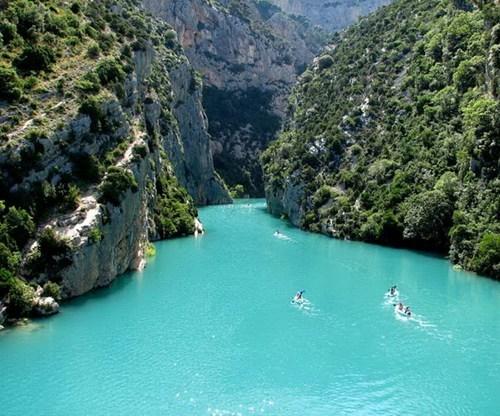 gorge landscape france - 7355690752