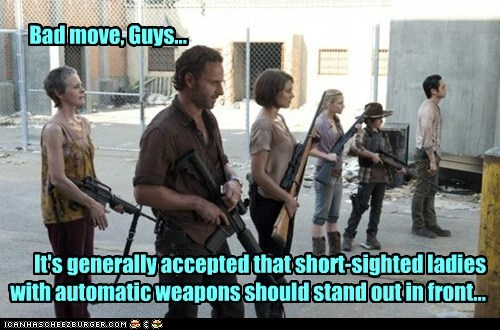 guns,zombie,The Walking Dead