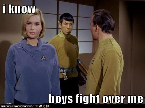 girls,Star Trek