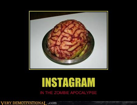 INSTAGRAM IN THE ZOMBIE APOCALYPSE