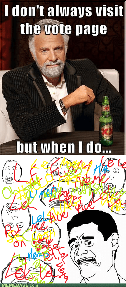 the most interesting man in the world vote page - 7356434688