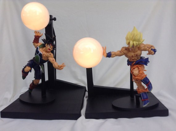 Power Up Any Room With One of These Truly Amazing Dragon Ball Z Lamps