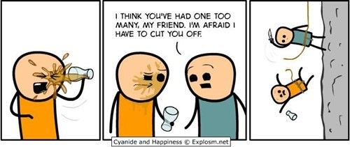 enough for you,cyanide and happiness,comics,cut off