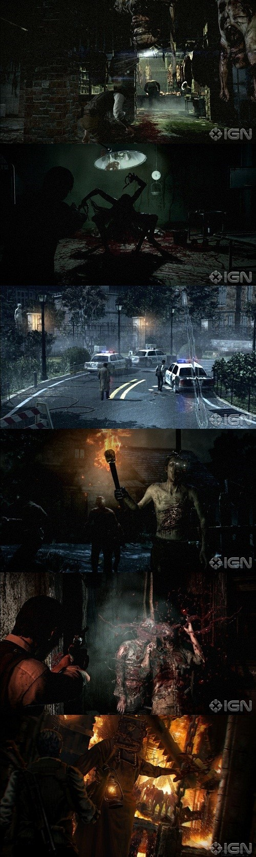 news the evil within bethesda IGN screenshots video games shinji mikami