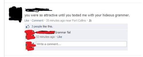 hideous grammar,grammar,grammer,spelling