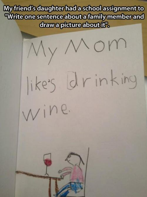 kids wine mom - 7360073216