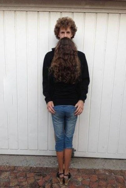 hair facial hair couples - 7360290304