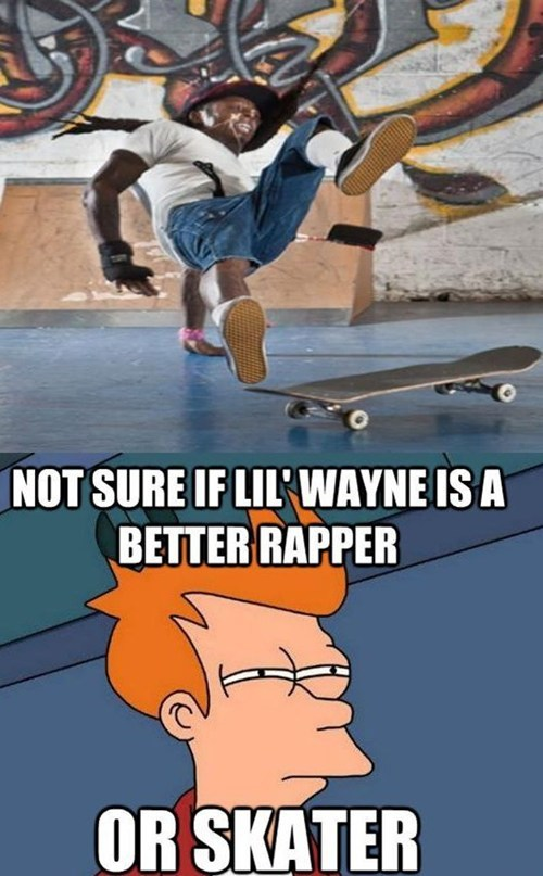 skateboards,rap,lil wayne