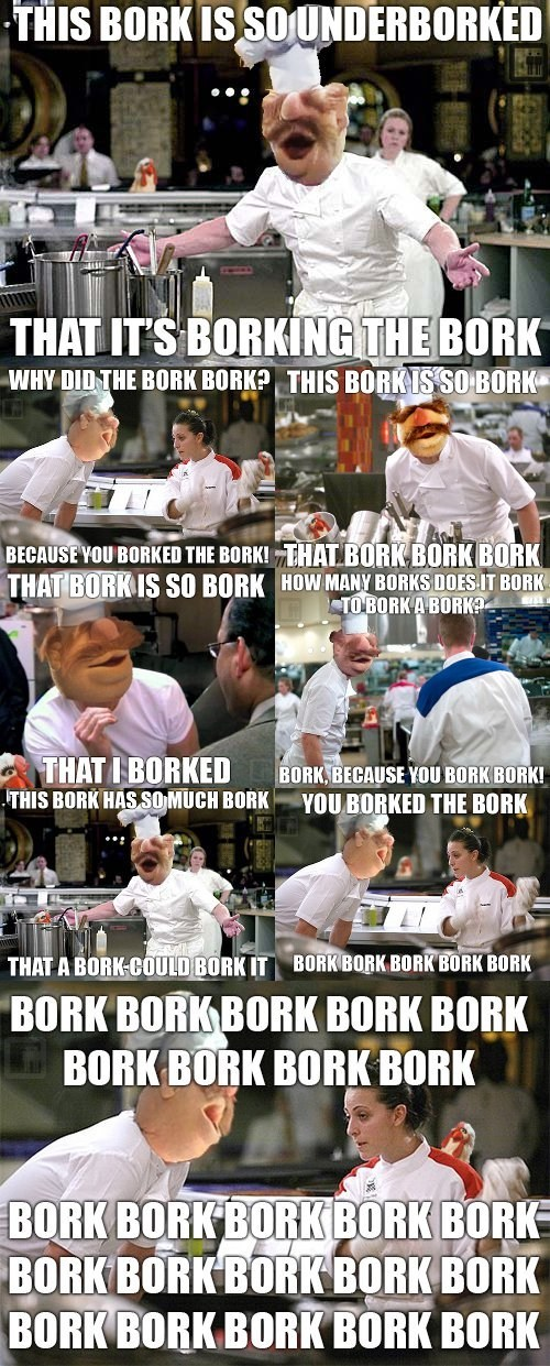 gordon ramsay,bork bork bork,swedish chef
