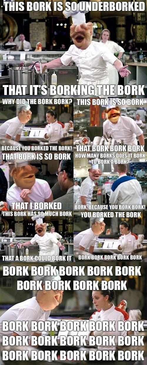 gordon ramsay bork bork bork swedish chef - 7360322048