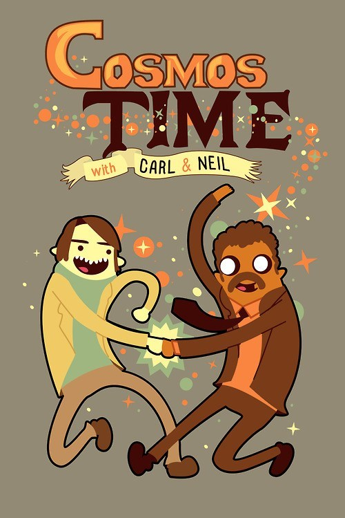 carl sagan,art,science,Neil deGrasse Tyson,adventure time