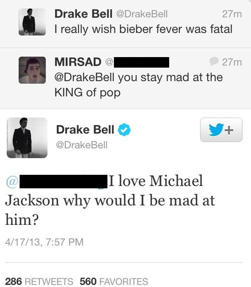You Know What, Drake Bell? You're All Right!