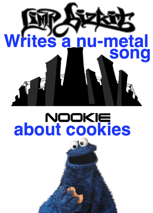 Cookie Monster limp buzkit nookie