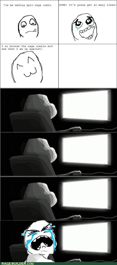 forever alone making rage comics - 7360595968