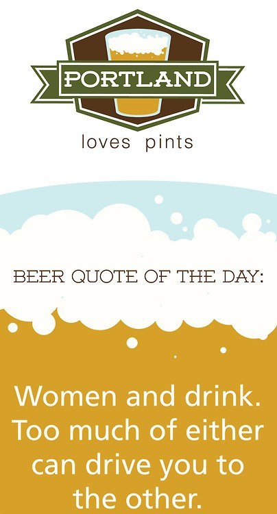 quotes,circle of life,portland loves pints
