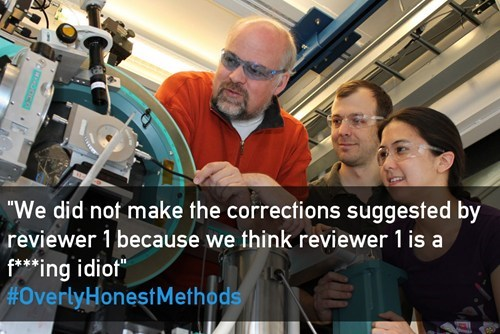 overly honest methods,twitter,science,research