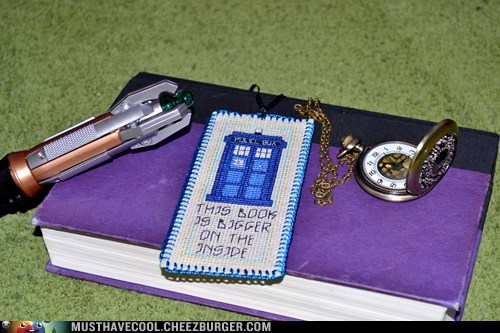 reading is sexy,nerdgasm,doctor who,book mark