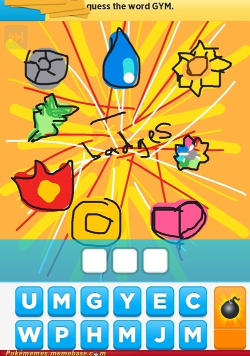 Drawsome Gym Badges