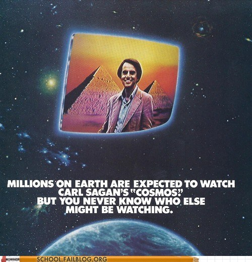 Aliens carl sagan cosmos - 7362390784