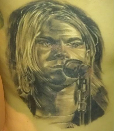Another Kurt tattoo