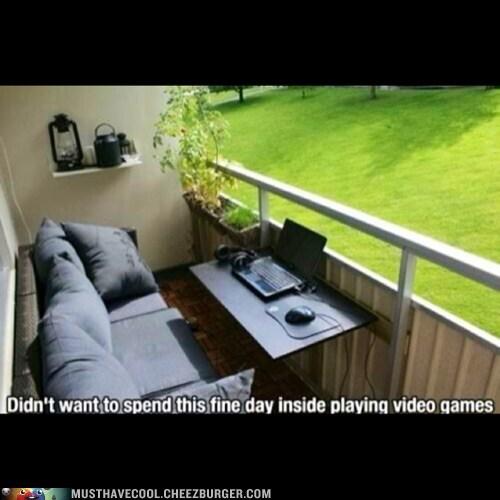 deck porch laptop - 7364445184