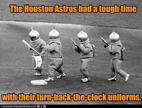 baseball Houston Astros spacemen - 7365382400