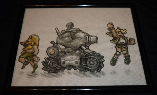 metal slug video games cross stitch - 7367865856