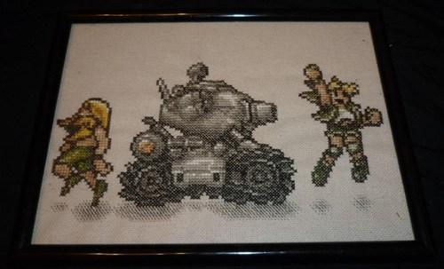 metal slug video games cross stitch - 7367865856