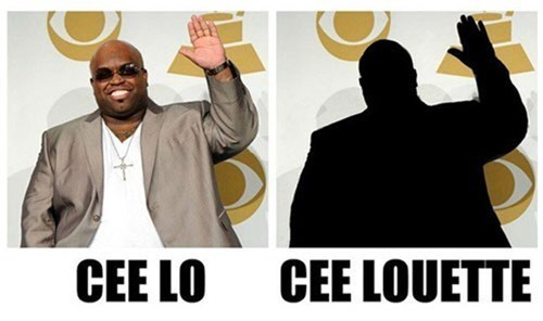 silhouettes puns cee lo - 7367985664