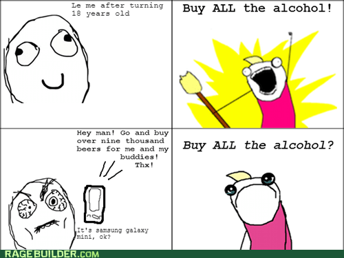 alcohol all the things buy all the alcohol