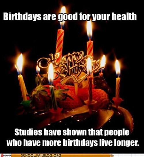 birthdays Fake Science studies - 7368659968