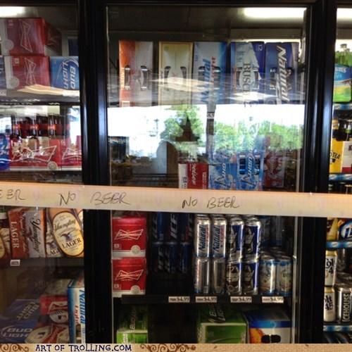 no beer,beer,convenience store