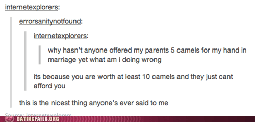 Measuring Your Worth in Camels