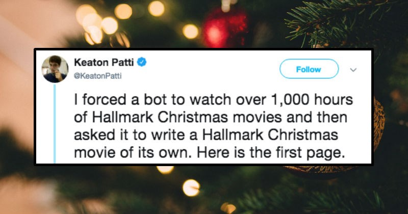christmas absurd movies robots tweets ridiculous script funny stupid writing television - 7372037