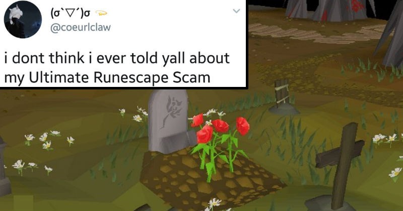 twitter runescape social media ridiculous video games video game logic funny - 7372549