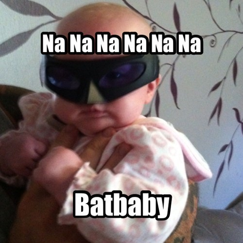 Babies,parenting,batman