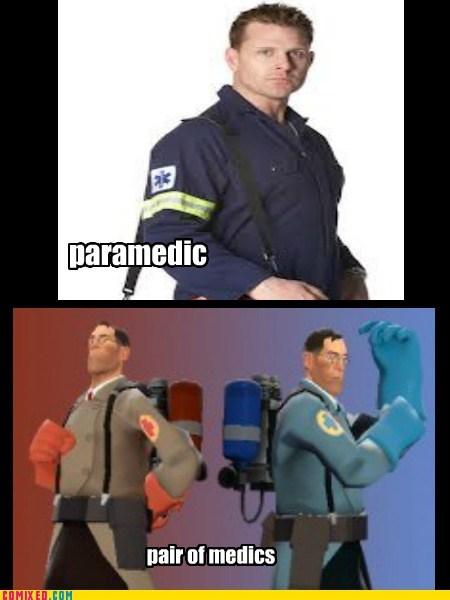 team fortress,puns,medics,funny
