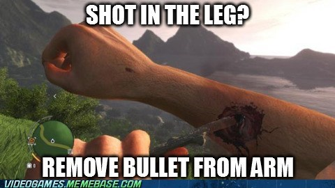 jason brody far cry 3 video game logic