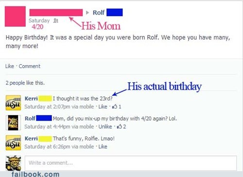 "It really was a ""special"" day."