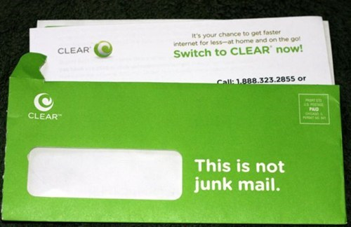 letters lies junk mail monday thru friday g rated