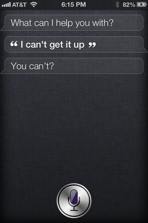 get it up siri not helpful - 7373178112