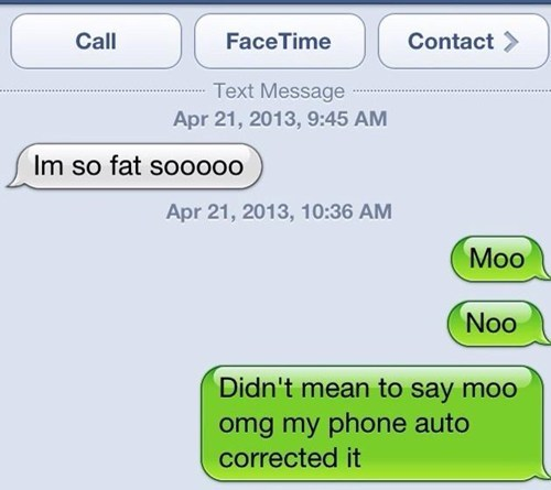 autocorrected moo Freudian iPhones no g rated AutocoWrecks - 7373242368