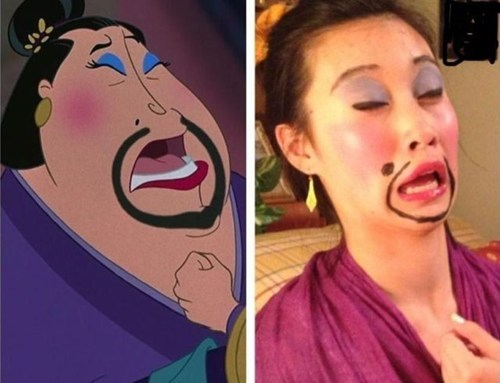 mulan disney cosplay - 7373533952