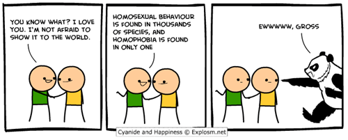 gross cyanide and happiness comics homophobia